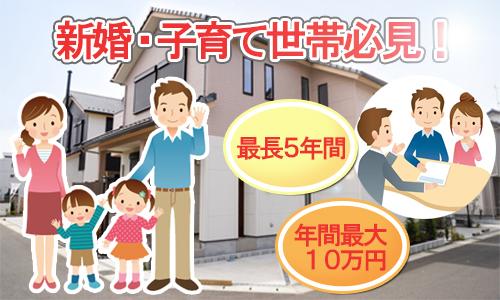 大阪市新婚・子育て世帯向け分譲住宅購入融資利子補給制度