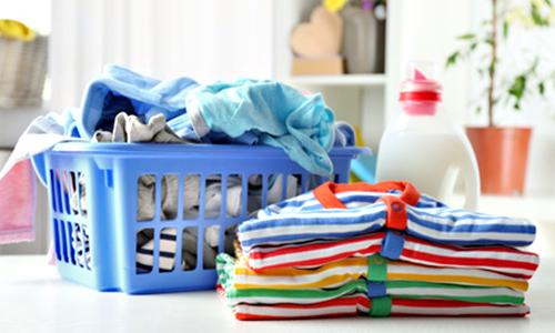 たくさん入るので基本的な洗濯が1日1回で済む