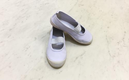 家にある衣料用洗剤で上靴を簡単にキレイに洗う方法