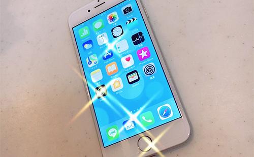 iphone6s水没4日後に突如復活した!