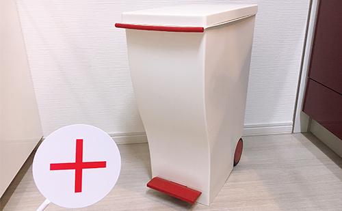 【デメリット】キッチン用ゴミ箱におすすめのクードスリムペダル