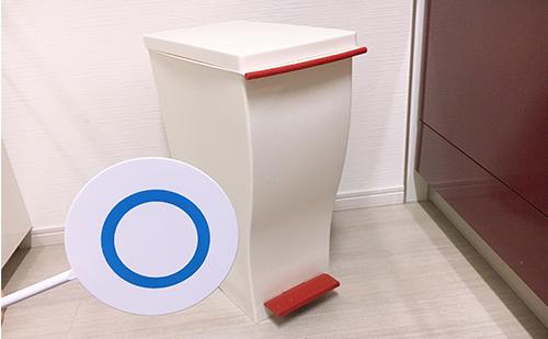 【メリット】キッチン用ゴミ箱におすすめのクードスリムペダル