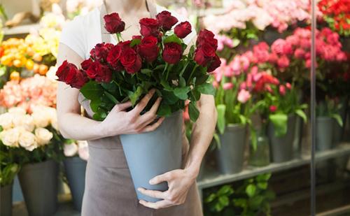 お花屋さんで選ぶ