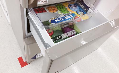 冷蔵庫の真ん中野菜室には落とし穴がある