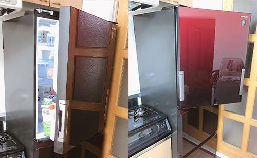 シャープの冷蔵庫SJ-GW36Eについて