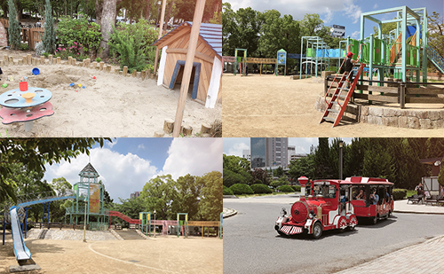 大阪城公園にある子供の遊び場3スポット