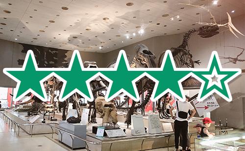 大阪市立自然史博物館に恐竜の化石を子連れで行った感想(全体評価★★★★☆)